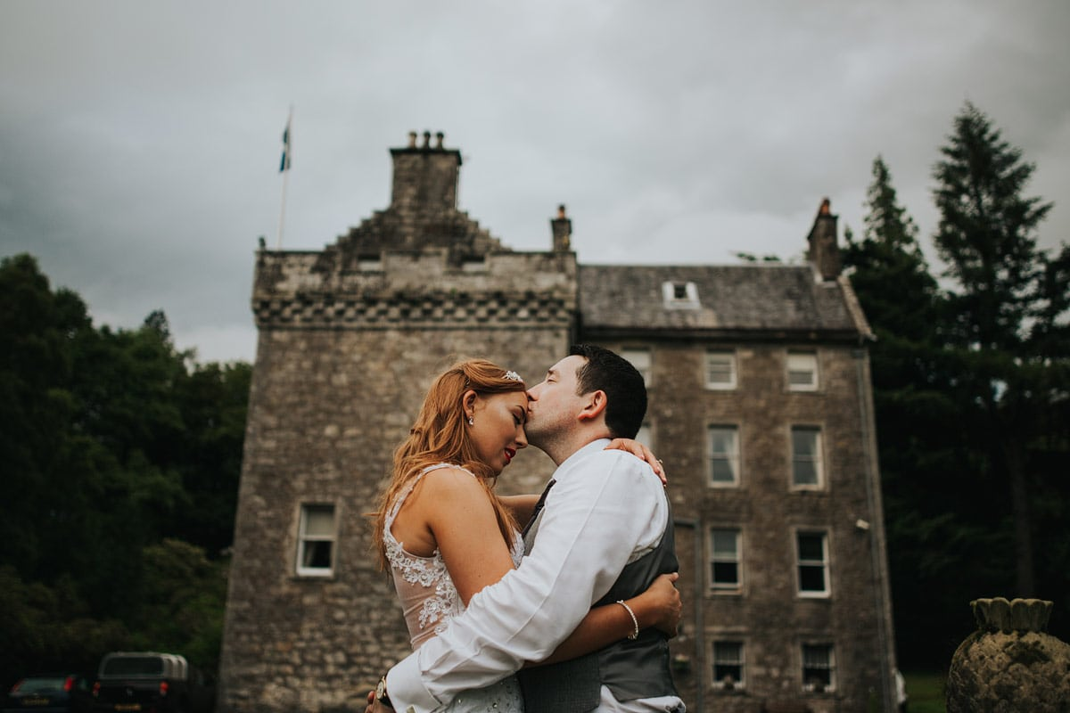 Culcreuch castle wedding photography_Ashleigh and Scott (116)