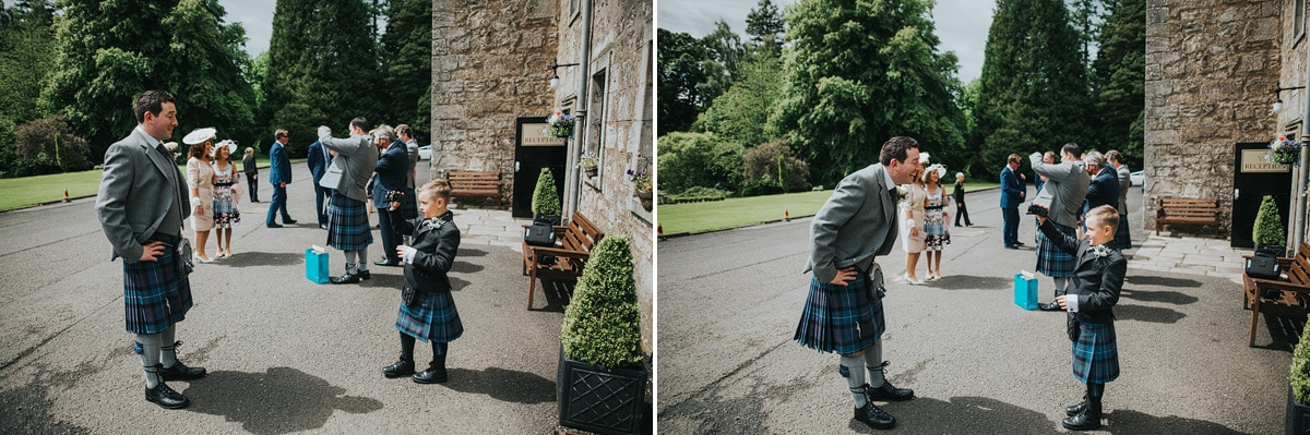 Culcreuch castle wedding photography_Ashleigh and Scott (17)