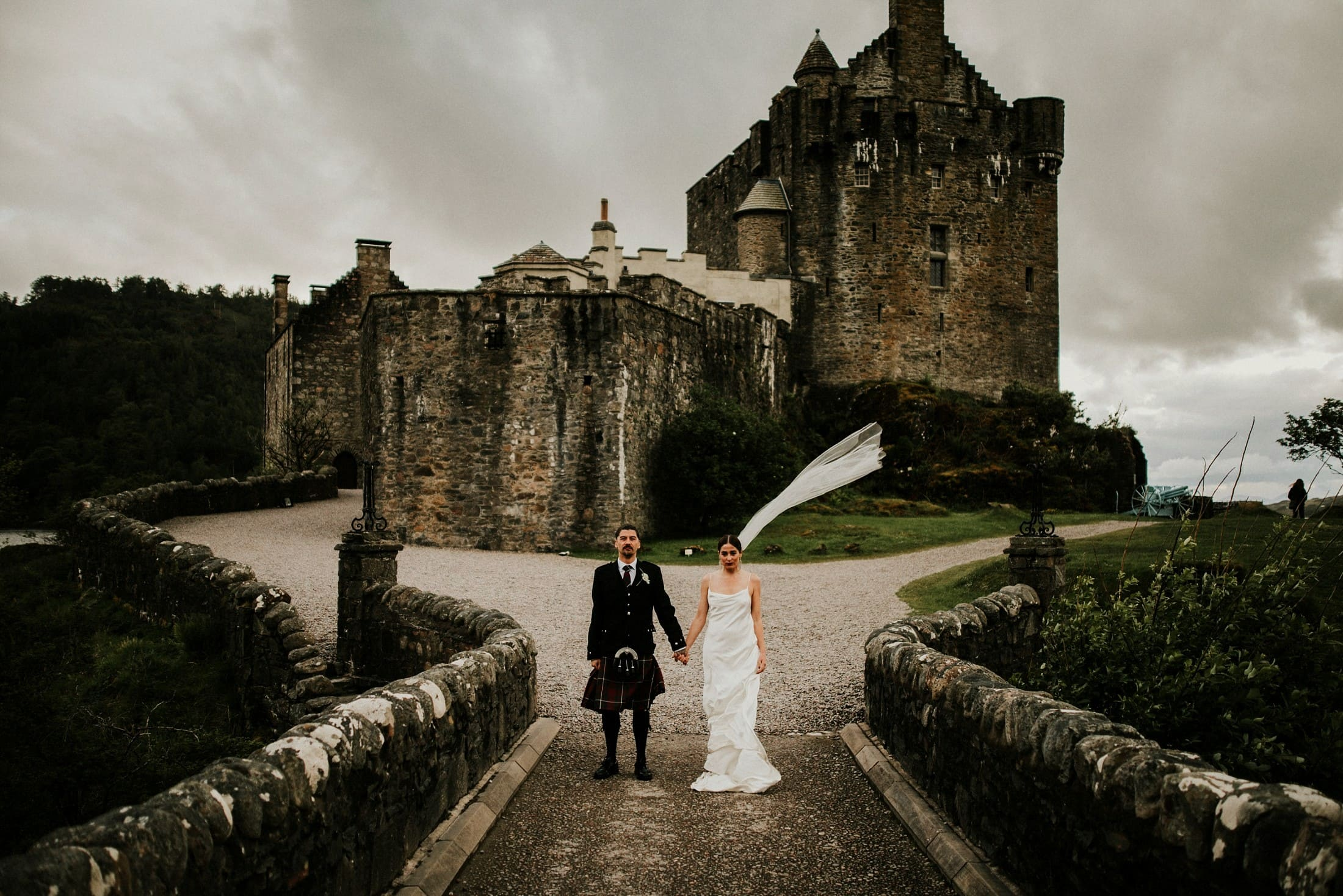 Eilean Donan Castle Isle Of Skye Wedding Photography