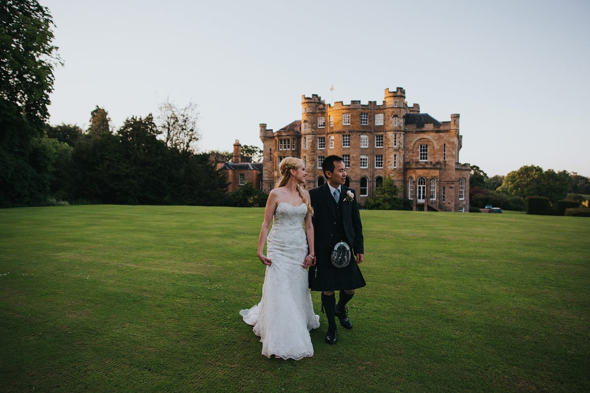Oxenfoord castle wedding photography (117)